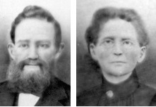 James W. Clark and Francis Louise Hope Clark